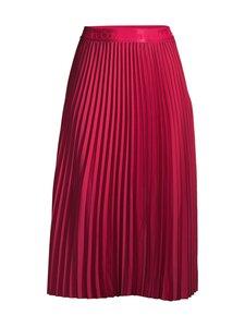 Calvin Klein Womenswear - Sunray Pleat Two Tone Midi -hame - XAP CERISE | Stockmann