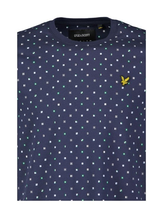 Lyle & Scott - Flag Print -paita - W154 NAVY FLAG PRINT | Stockmann - photo 2