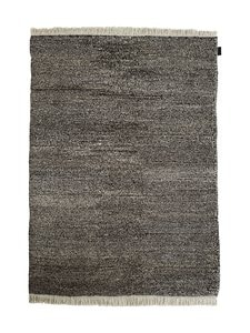 Sera Helsinki - Tuohi-villamatto 200 x 300 cm - BLACK/NATURAL WHITE (MUSTA/LUONNONVALKOINEN) | Stockmann