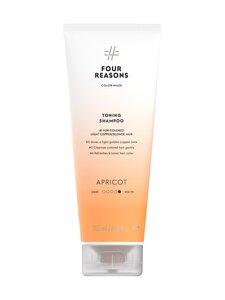 Four Reasons - Color Mask Toning Shampoo Apricot -sävyttävä shampoo 250 ml - null | Stockmann