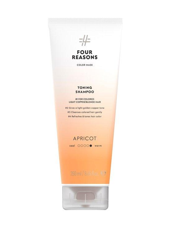 Four Reasons - Color Mask Toning Shampoo Apricot -sävyttävä shampoo 250 ml - PEACH | Stockmann - photo 1