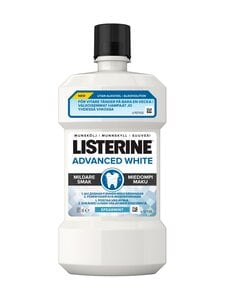 Listerine - Advanced White Milder Taste Mouthwash -suuvesi 500 ml | Stockmann