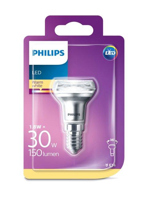 LED 1,8W (30W) R39 E14 -heijastinlamppu