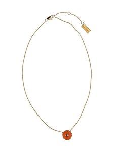 Marc Jacobs - The Medallion Pendant -kaulakoru - 109 CREAM/PINK   Stockmann
