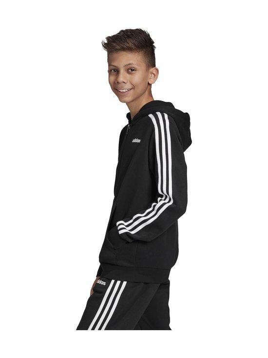 adidas Performance - Essentials 3 Stripes Hoodie -huppari - BLACK/WHITE | Stockmann - photo 6