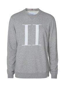 Les Deux - Encore Light Sweatshirt -collegepaita - 310201-LIGHT GREY MELANGE/WHITE | Stockmann