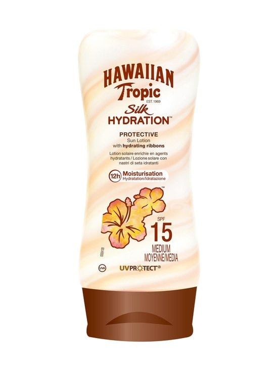 Hawaiian Tropic - Silky Hydration Sun Emulsion SPF 15 -aurinkosuojavoide 180 ml - null | Stockmann - photo 1