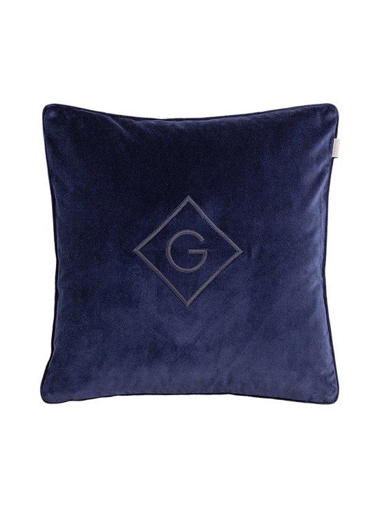 Gant Home - Velvet G -tyynynpäällinen 50 x 50 cm - 410 MARINE | Stockmann - photo 1