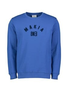 Makia - Brand Sweatshirt -collegepaita - BLUE | Stockmann