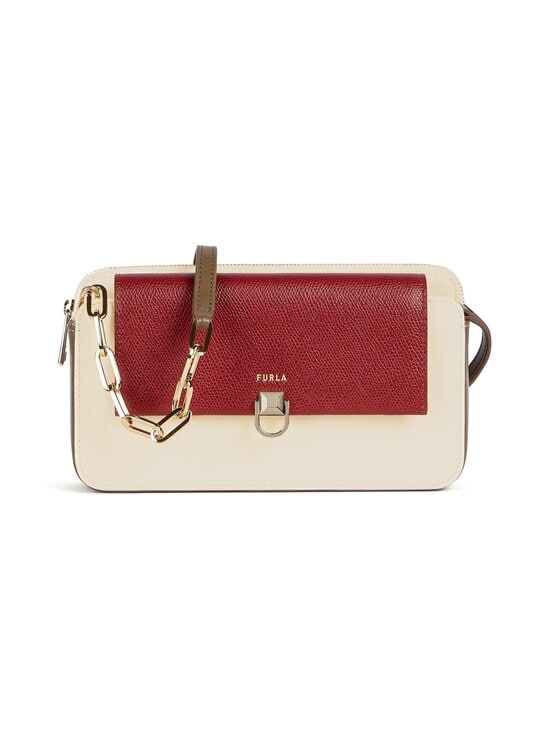 Furla - Miss Mimi Mini Crossbody -nahkalaukku - 0233S CILIEGIA+PERGAMENA+FANGO | Stockmann - photo 1