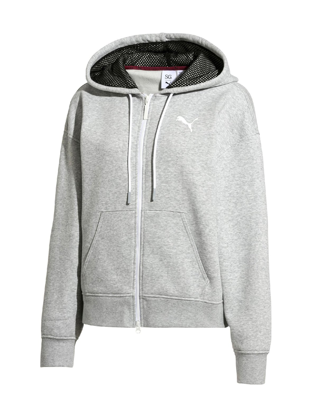 Light Grey Heather (harmaa) Puma Puma x SG Fz Hoodie -huppari 517805 ... cfcf77f6b8