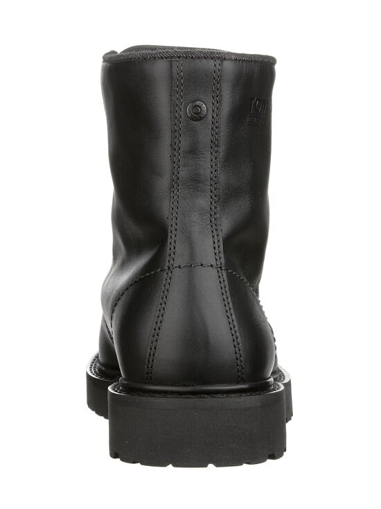 Tommy Hilfiger - Leather Lace Up Boots -nahkanilkkurit - BDS, BLACK | Stockmann - photo 3