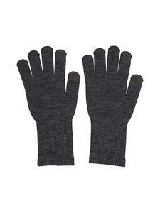 Pieces - PcNew Buddy Smart Glove -sormikkaat - DARK GREY MELANGE DETAIL:DARK GREY FINGERTIP | Stockmann