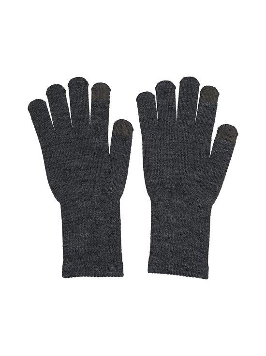 Pieces - PcNew Buddy Smart Glove -sormikkaat - DARK GREY MELANGE DETAIL:DARK GREY FINGERTIP | Stockmann - photo 1