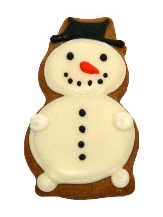 Lumiukko-piparkakkumuotti 6,5 cm