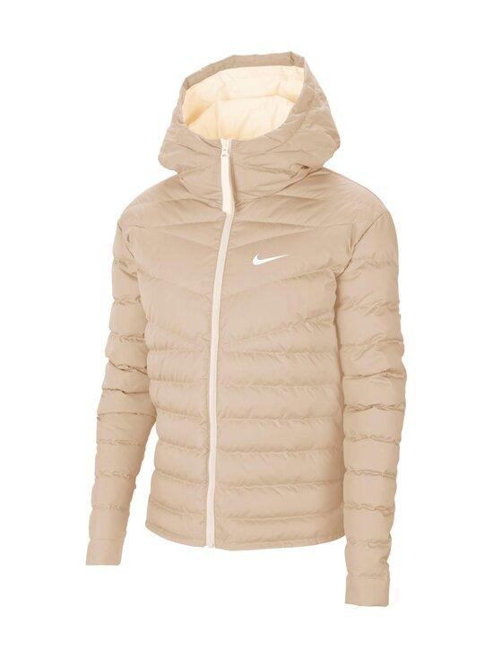 Nike - W Sportswear Windrunner Down-Fill -untuvatakki - 140 OATMEAL/PALE IVORY/WHITE | Stockmann - photo 1