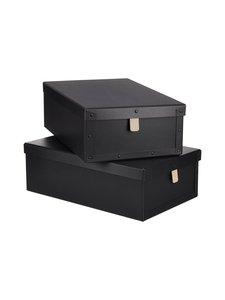 Bigso Box - Viktor-laatikko 2 kpl - MUSTA | Stockmann