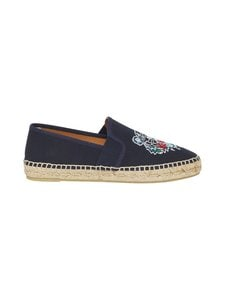 Kenzo - Tiger-espadrillot - 76 - CANVAS TIGER HEAD EMBROIDERY - NAVY BLUE | Stockmann