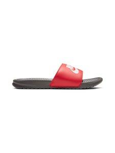 Nike - Benassi JDI -sandaalit - IRON GREY/WHITE-TRACK RED 028 | Stockmann