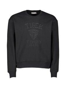 Tiger Jeans - Zoab Emb -collegepaita - 050 BLACK | Stockmann