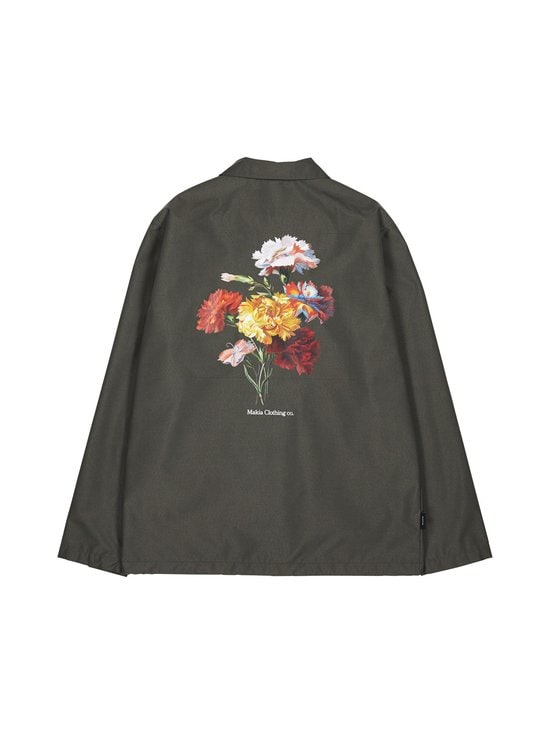 Makia - Makia x Von Wright Bouquet -takki - GREEN | Stockmann - photo 3