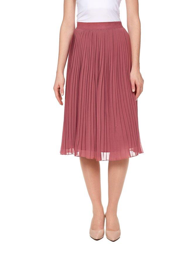 Pleated Midi Skirt -hame