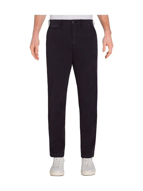 Calvin Klein Menswear - Slim Fit Garment Dye Chino -housut - DW4 CALVIN NAVY | Stockmann - photo 3