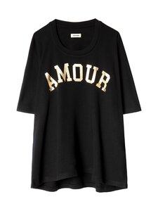 Zadig&Voltaire - Portland Amour Sweatshirt -paita - NOIR NOIR | Stockmann