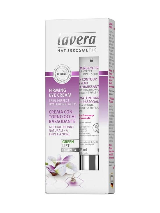 Lavera - Firming Green Lift Eye Cream -silmänympärysvoide 15 ml - NOCOL | Stockmann - photo 1
