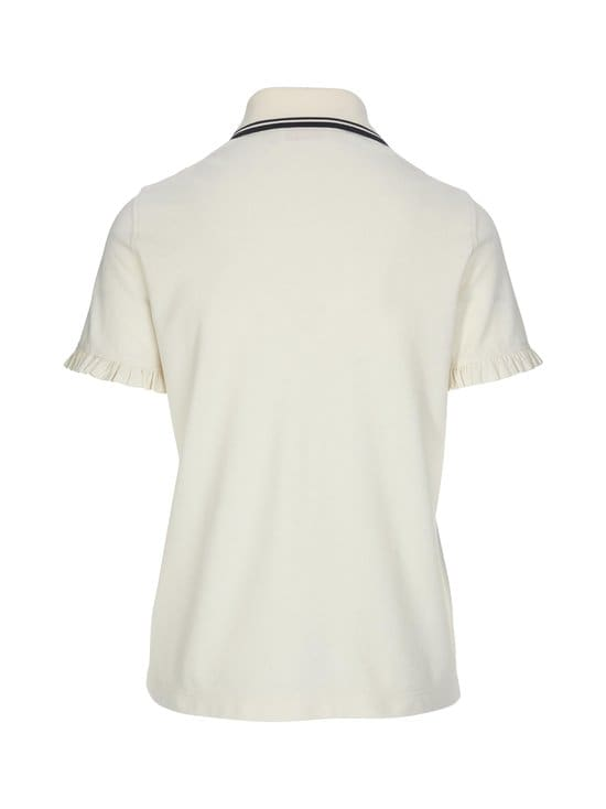 Tory Burch - Ruffle Polo -paita - 104 IVORY | Stockmann - photo 2