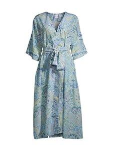 Lili Marleena - Blue Paisley Silk Wrap -mekko - BLUE | Stockmann