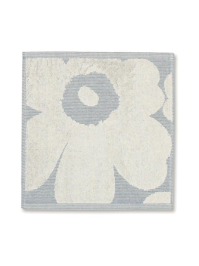 Unikko Jacquard -pyyhe 30 x 30 cm