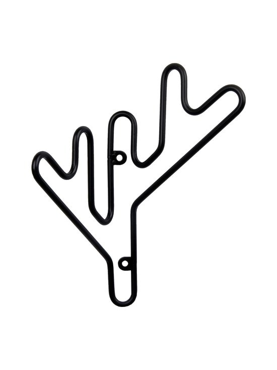 Maze - Twig Hanger -naulakko - MUSTA | Stockmann - photo 1