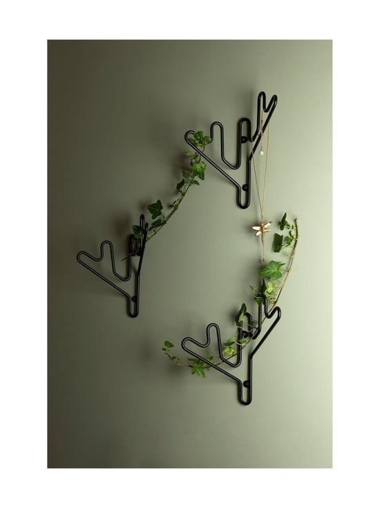 Maze - Twig Hanger -naulakko - MUSTA | Stockmann - photo 2