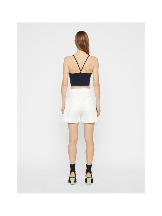 J.Lindeberg - Brianna-Cotton Twill Shorts -shortsit - 0000 WHITE | Stockmann - photo 4