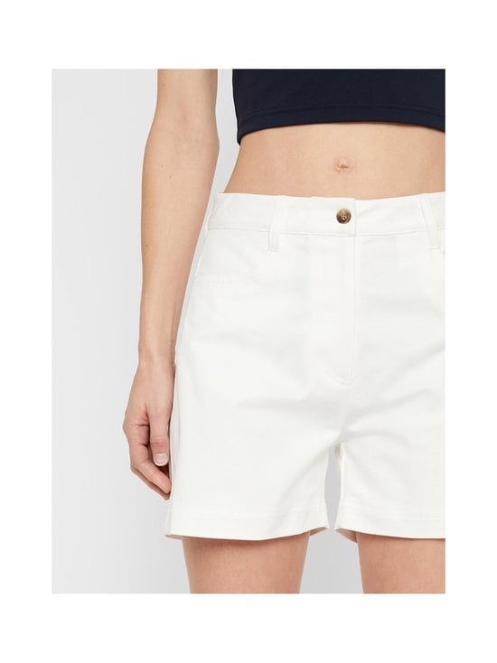 J.Lindeberg - Brianna-Cotton Twill Shorts -shortsit - 0000 WHITE | Stockmann - photo 7