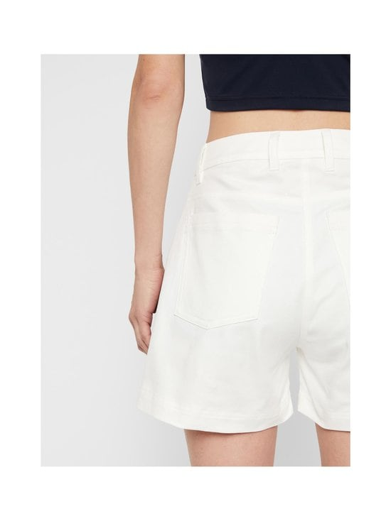 J.Lindeberg - Brianna-Cotton Twill Shorts -shortsit - 0000 WHITE | Stockmann - photo 8
