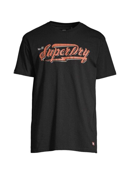 Superdry - Boho Box Fit Graphic Tee -paita - 02A BLACK | Stockmann - photo 1