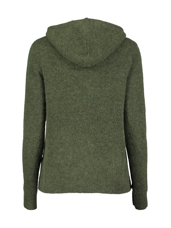 Gustav - Caroli Knit Hoodie -neule - 635 GREEN | Stockmann - photo 2