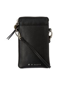A+more - Kulta-puhelinlaukku - BLACK | Stockmann