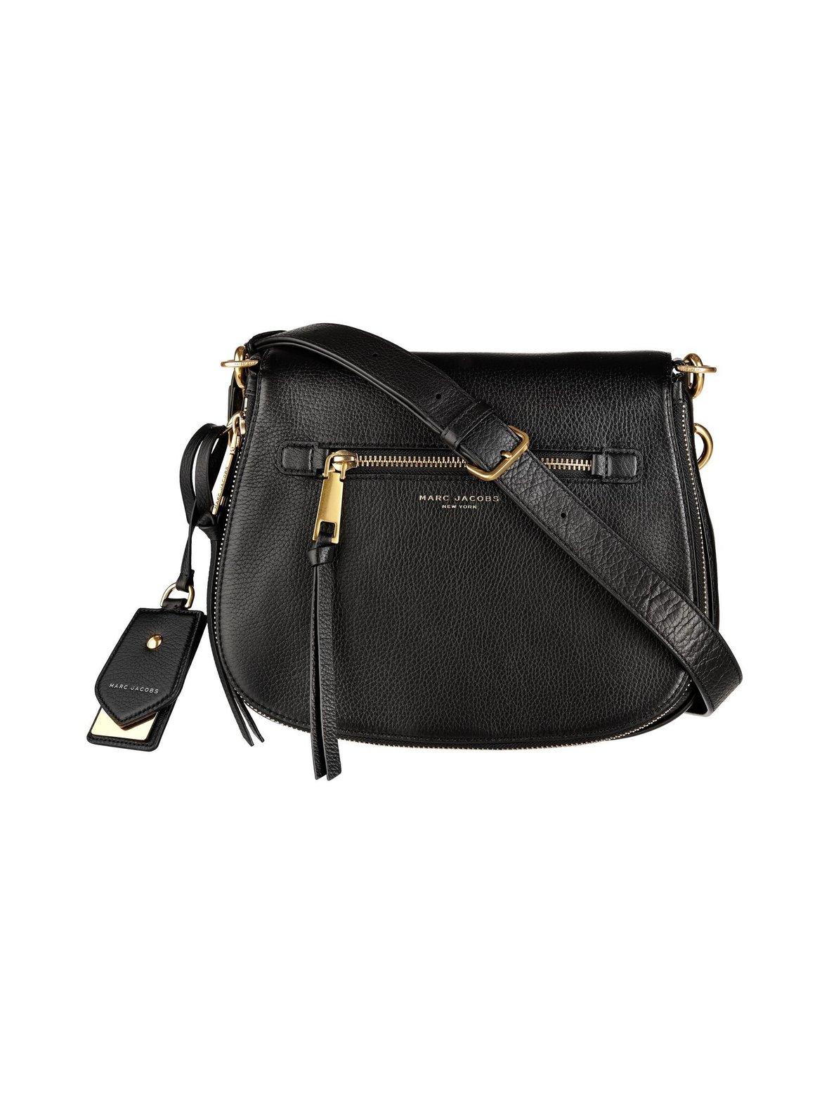 Black (musta) Marc Jacobs M0008102 Recruit Nomad Saddle Bag ... c279e46d85