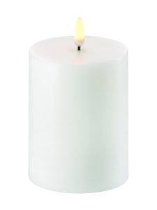 UYUNI - Pillar LED -pöytäkynttilä 8 x 10 cm - NORDIC WHITE | Stockmann