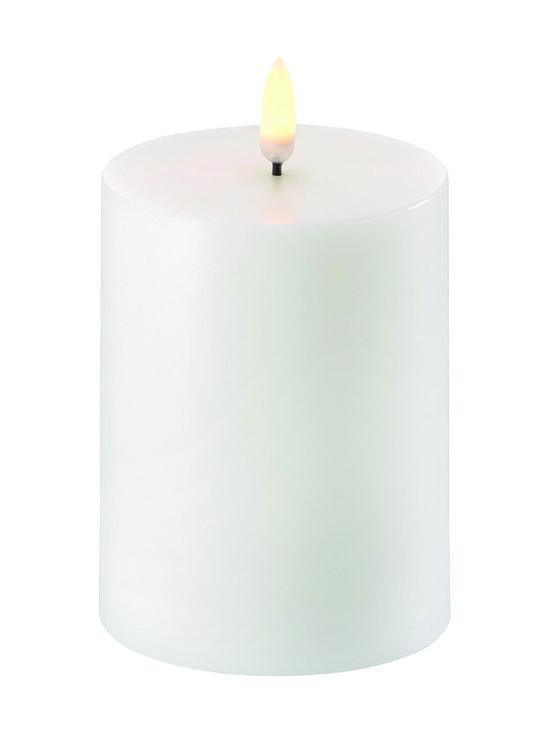 UYUNI - Pillar LED -pöytäkynttilä 8 x 10 cm - NORDIC WHITE | Stockmann - photo 1
