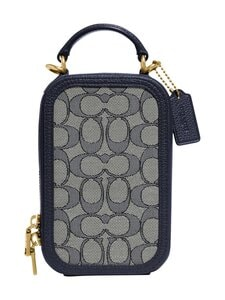 Coach - Alie Camera Bag In Signature Jacquard -laukku - B4RH3 B4/NAVY MIDNIGHT NAVY | Stockmann