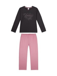 Sanetta - Teens Girl Mystic Moment -pyjama - 5169 PHANTOM   Stockmann