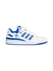 adidas Originals - FORUM LOW -sneakerit - FTWWHT/FTWWHT/ROYBLU FTWR WHITE/FTWR WHITE/TEAM ROYAL BLUE   Stockmann