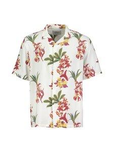 Carhartt WIP - Hawaiian Floral Shirt -kauluspaita - HAWAIIAN FLORAL PRINT, WHITE   Stockmann