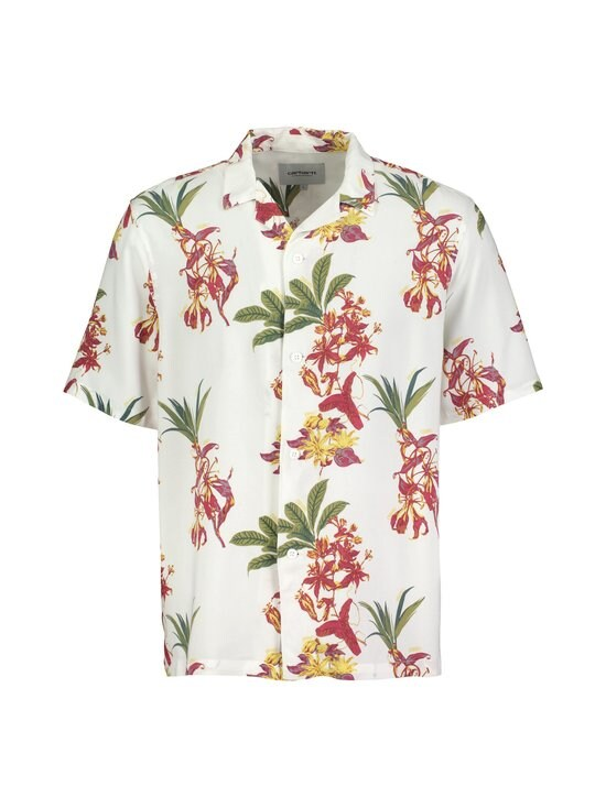 Carhartt WIP - Hawaiian Floral Shirt -kauluspaita - HAWAIIAN FLORAL PRINT, WHITE | Stockmann - photo 1