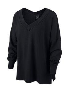 Nike - Yoga Fleece Cover-Up -paita - BLACK/DARK SMOKE GREY | Stockmann