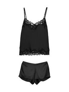 Lauren Ralph Lauren - Essentials Signature -pyjama - BLACK | Stockmann